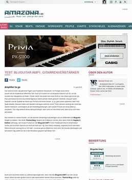 Test: Bluguitar AMP1, Gitarrenverstärker