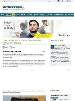 Test: Thon Case Technics 1200 / 1210 MKII, Equipment-Case