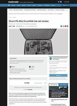 Shure PG Alta DrumKit6