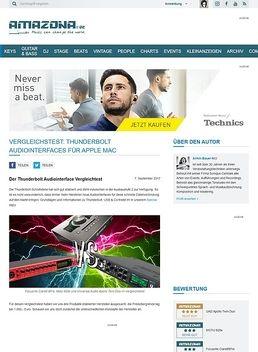 Vergleichstest: Focusrite Clarett 8Pre, Motu 828x, Universal Audio Apollo Twin Duo, Thunderbolt Audiointerfaces