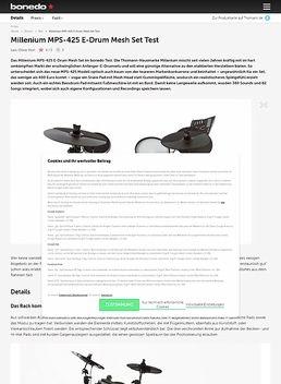 MPS-425 E-Drum Mesh Set