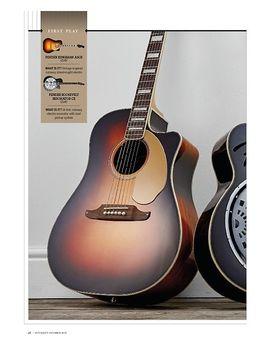 Fender Kingman ASCE + Roosevelt Resonator