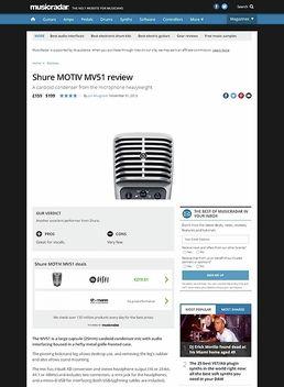 Shure MOTIV MV51