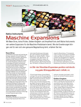 Native Instruments Maschine Expansions