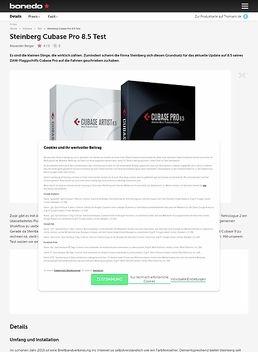 Steinberg Cubase Pro 8.5