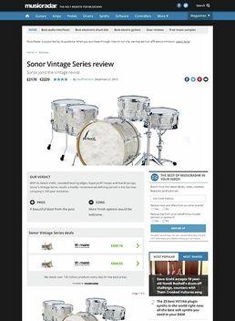 Sonor Vintage Series