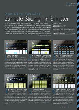 Push-DJing - Sample-Slicing im Simpler