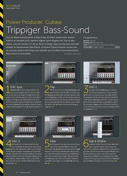 Cubase - Trippiger Bass-Sound