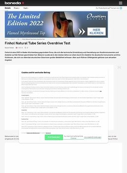 Natural Tube Series Overdrive