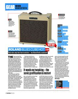 Blues Cube Hot BK