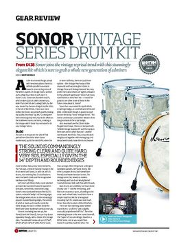 Sonor Vintage Series Drum Kit
