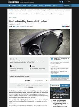 Mackie FreePlay Personal PA