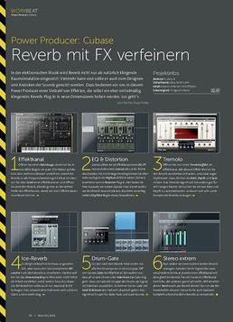 Power Producer: Reverb mit FX verfeinern