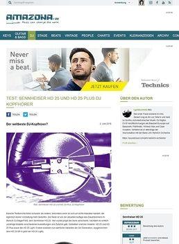Test: Sennheiser HD 25 und HD25 Plus, DJ Kopfhörer