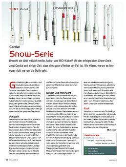 Cordial Snow Serie