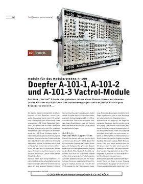 Doepfer A-101-1, A-101-2 und A-101-3 Vactrol Module