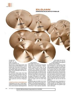 Zildjan Armand Series Cymbals