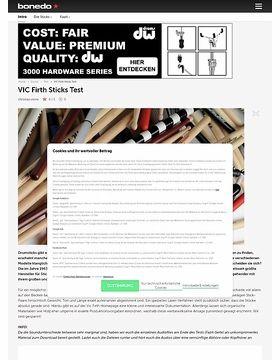 VIC Firth Stick Test