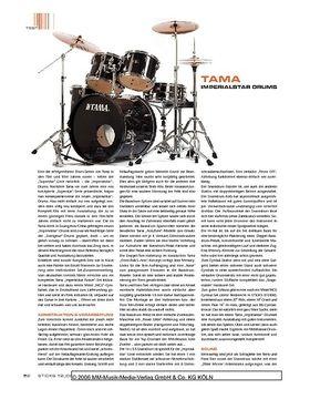 Tama Imperialstar Drums