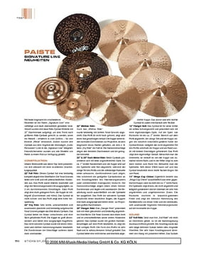 Paiste Signature Line Cymbals