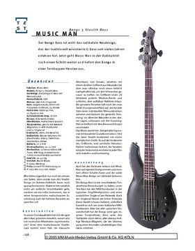 Music Man Bongo 5 Stealth, Fünfsaiter-E-Bass