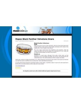 Mapex Black Panther Velvetone Snare