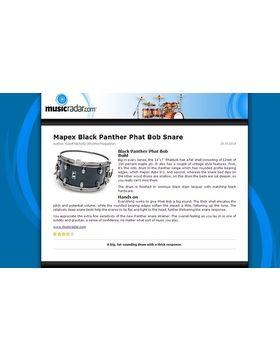Mapex Black Panther Phat Bob Snare