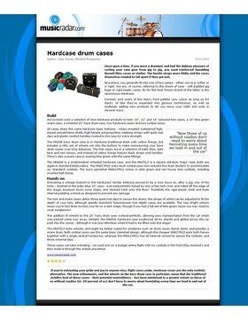 Drum Case Set HRockFus3
