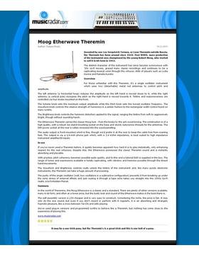 Etherwave Theremin Powersupply