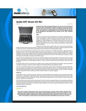 Audix DP7 Drum Kit Mic