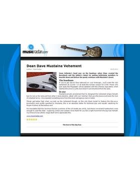 Dean Dave Mustaine Vehement