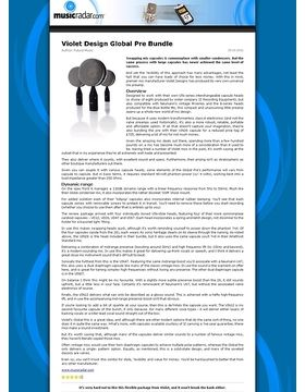 Violet Design Global Pre Bundle