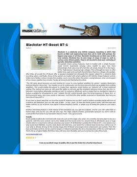 Blackstar HT-Boost BT-1
