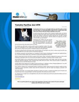 Yamaha Pacifica 212 VFM