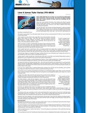 Line 6 James Tyler Variax JTV-69US