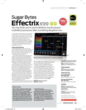 Sugar Bytes Effectrix
