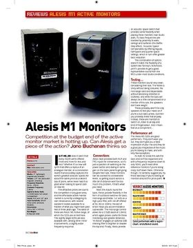 Alesis M1 Monitors