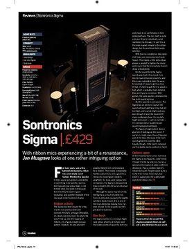 Sontronics Sigma