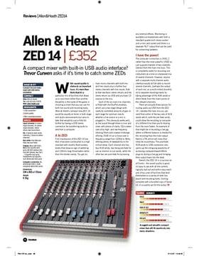Allen and Heath ZED 14