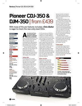 Mixer Case Pioneer DJM 350