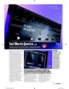 Carl Martin Quattro