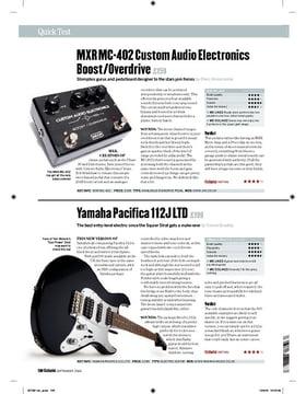 MXR MC402 Custom Audio Electronics Boost/Overdrive