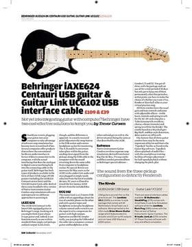 Behringer Guitar Link UCG102