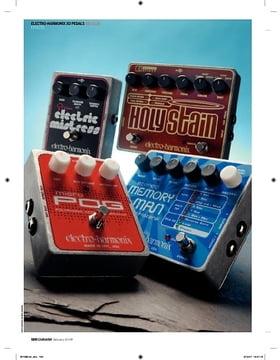 Electro Harmonix Stereo Memory Man pedal