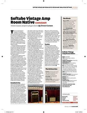 Softube Vintage Amp Room Native