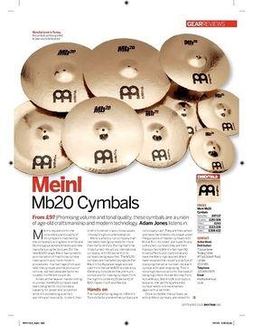 Meinl  Mb20 Cymbals