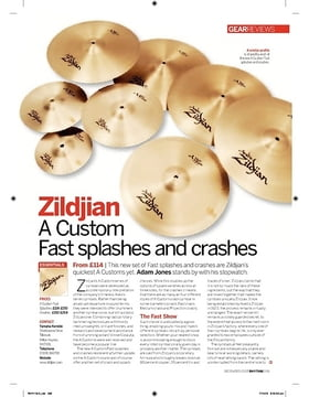 Zildjian A Custom  Fast splashes and crashes