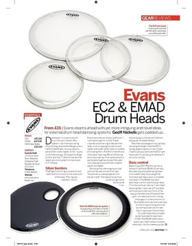 """22"""" EMAD2 Clear Bass Drum"""