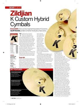 Zildjian K Custom Hybrid Cymbals