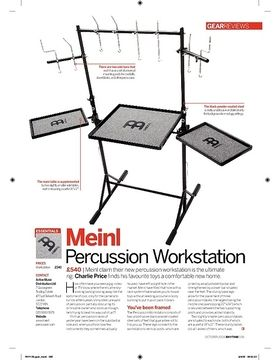 Meinl Percussion Workstation